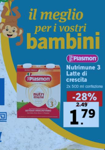 promozione plasmon volantino lidl