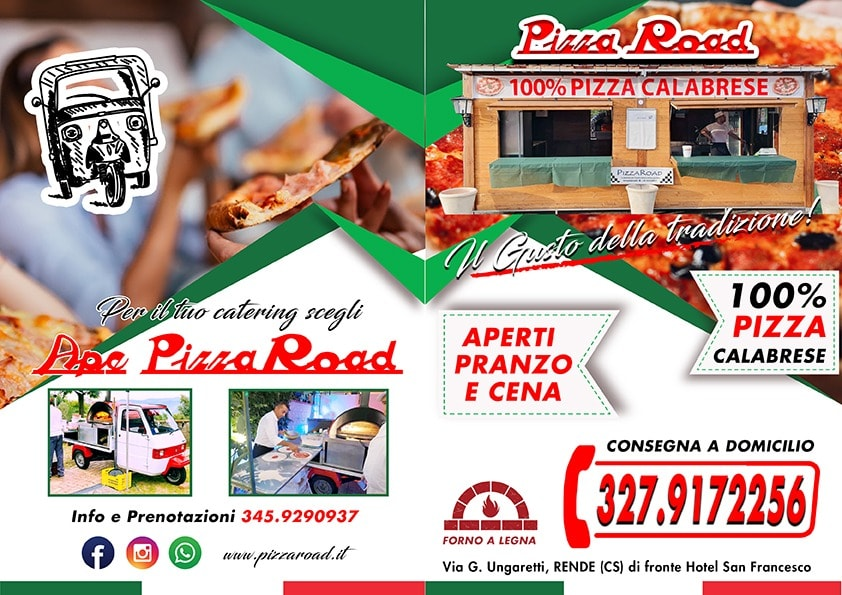 pizza road Rende CS