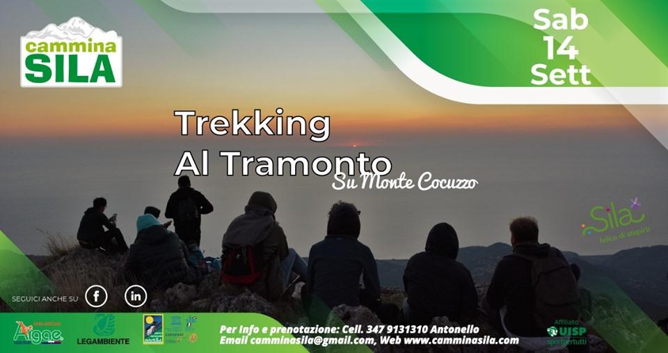Sabato 14 Settembre Trekking al Tramonto su Monte Cocuzzo