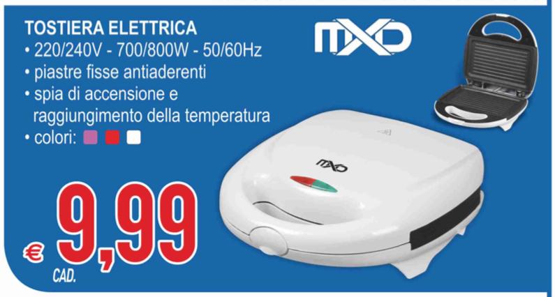 MD TOSTIERA ELETTRICA a 9.99 - CosenzaPrime.it