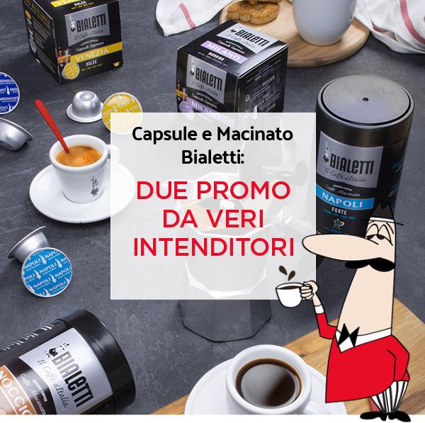 Bialetti - Caffè in capsule o macinato