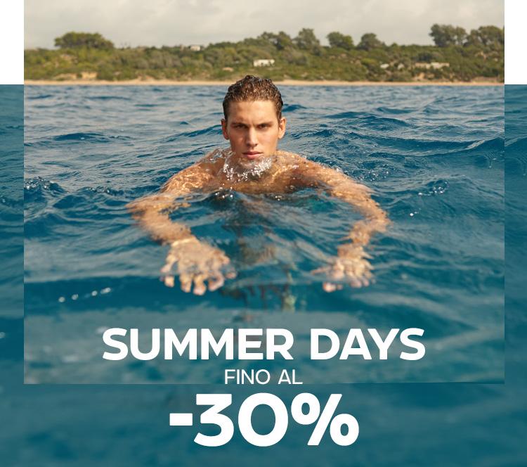 SUMMER DAYS fino al -30%