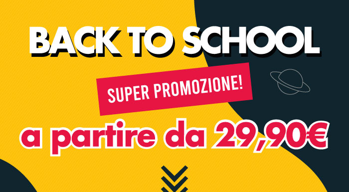 NonSoloSport:Back to school a partire da 29,90€