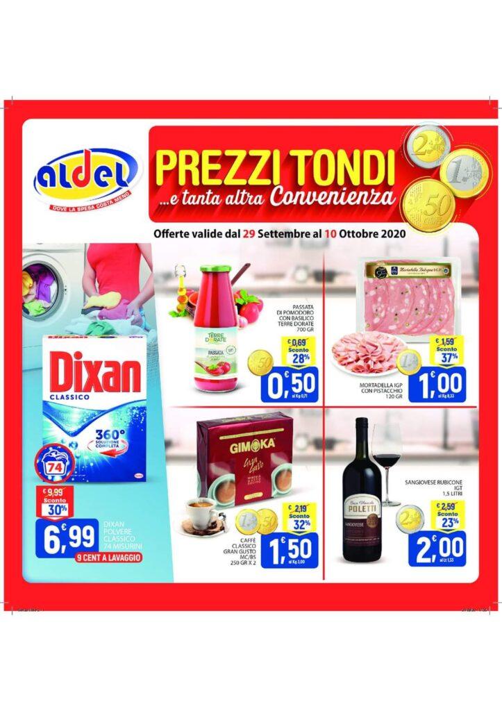 volantino aldel discount cosenza valido dal 29 al 10 ottobre 2020!