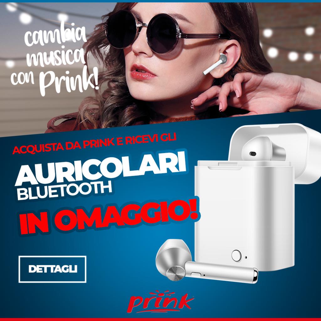 Prink Cosenza: auricolari Bluetooth