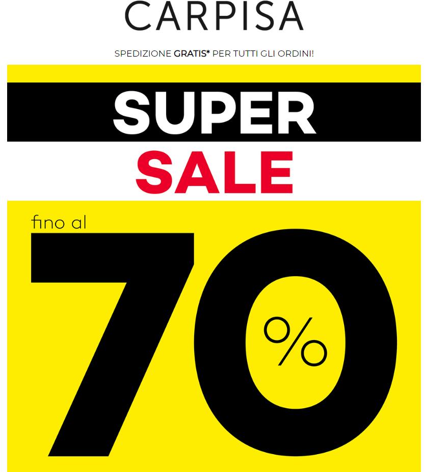 Da Carpisa ci sono i SALDI FINO AL 70%. Scopri tutte le borse a partire da 10€!