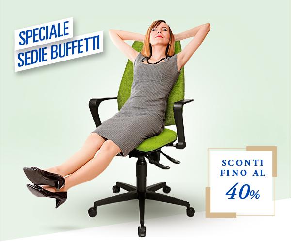 Sedie Buffetti -  scontate fino al 40%