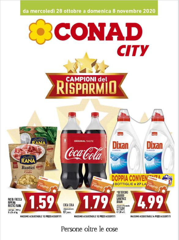 Volantino Conad City 28 Ott-08 Nov
