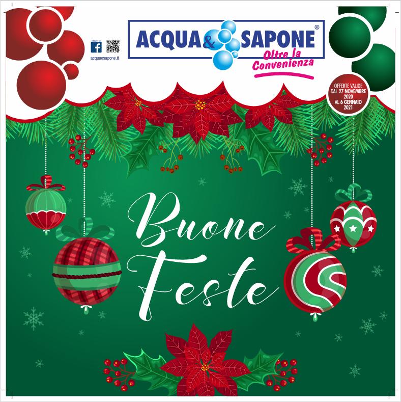Acqua&Sapone Volantino BUONE FESTE