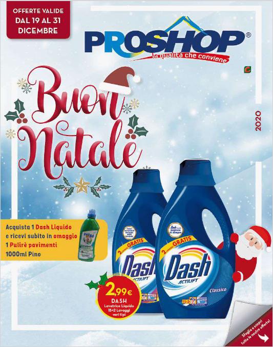 Volantino Proshop Buon Natale