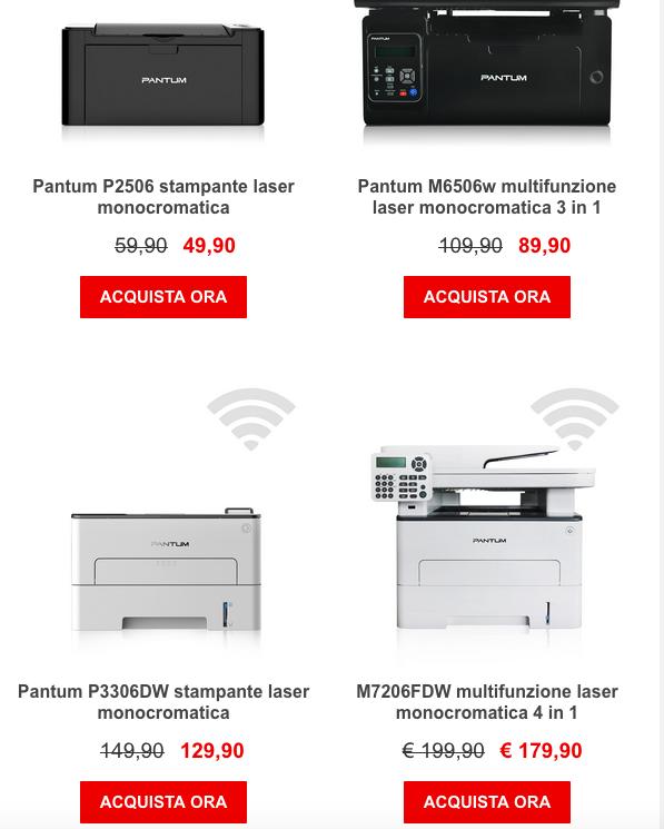 PRINK Devi cambiare stampante? Approfittane ora!