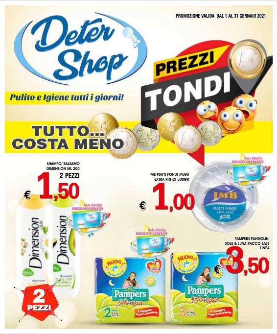 Volantino DETERSHOP Prezzi Tondi!!