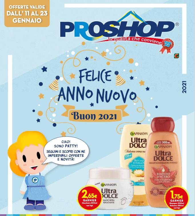 Volantino Proshop Felice Anno Nuovo