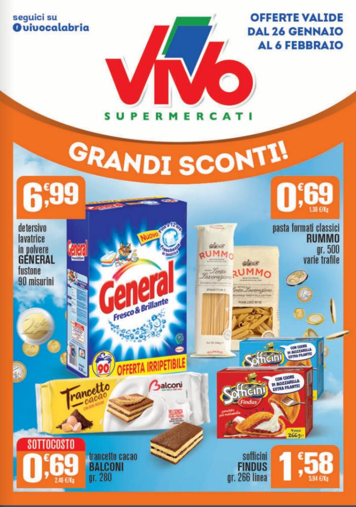 Volantini ViVo Grandi Sconti