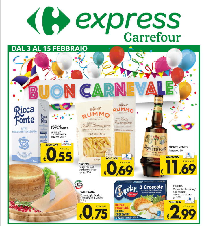 Nuovo Volantino Carrefour Express
