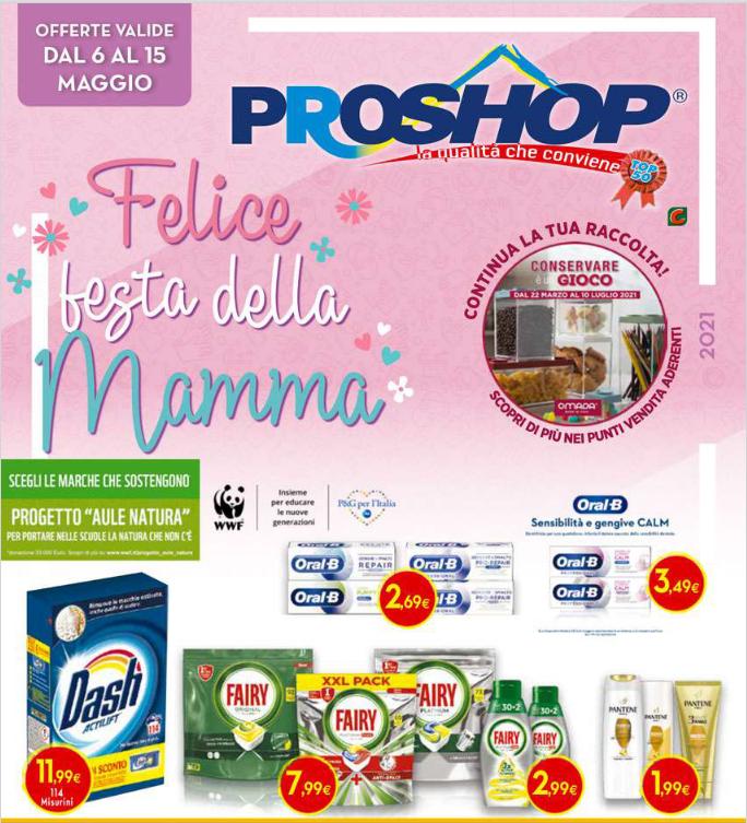Volantino Proshop Felice Festa della Mamma