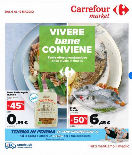 Volantino Carrefour San Demetrio