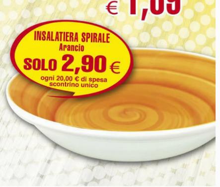 Contè Insalatiera a solo 2,90€