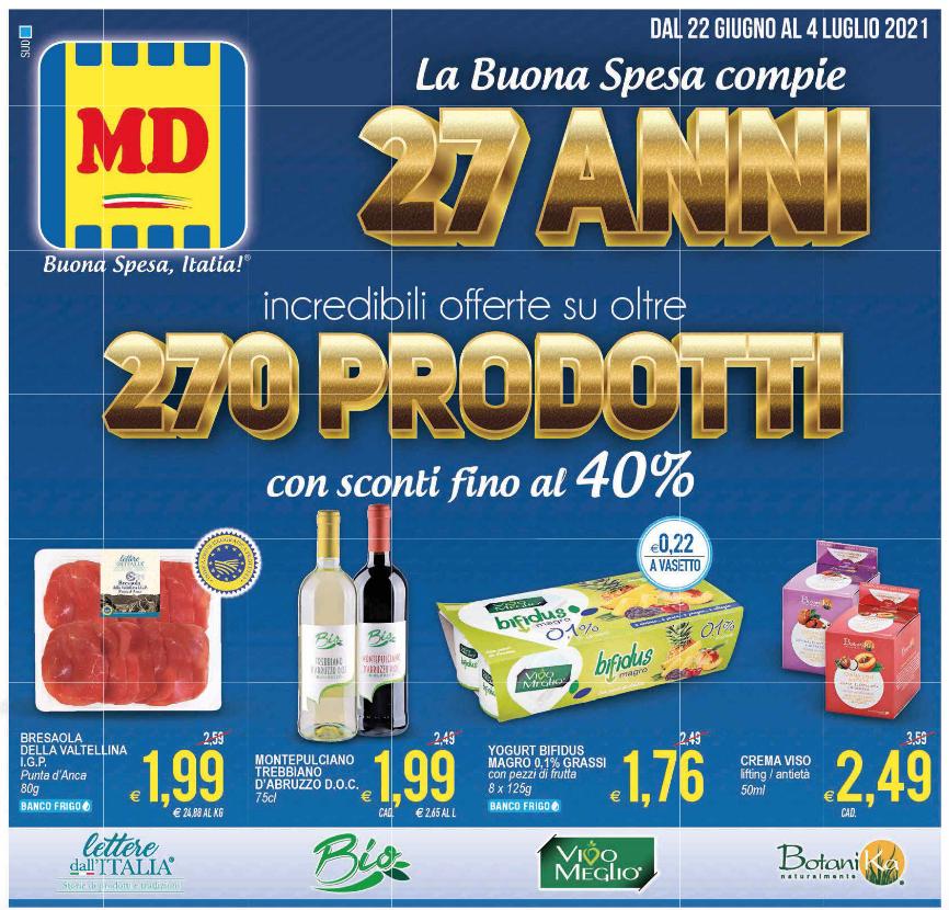 Volantino MD 270 Prodotti con sconti fino al 40%
