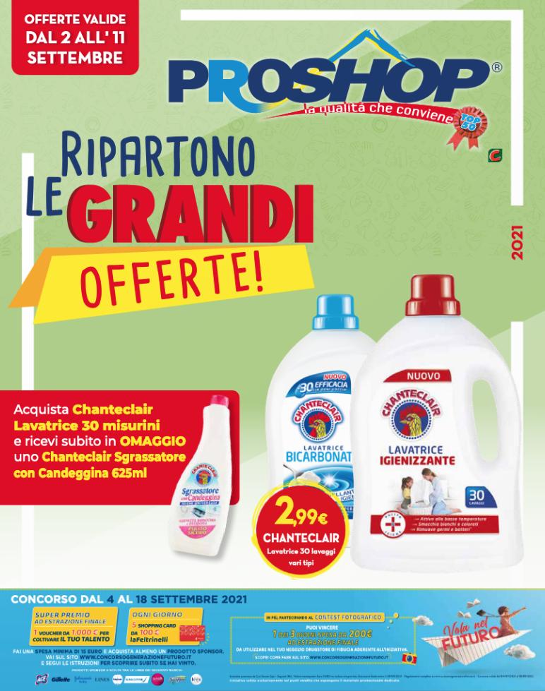PROSHOP RIPARTONO LE GRANDI OFFERTE