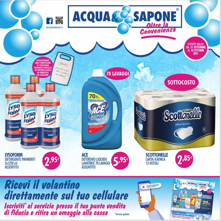 Offerte del Nuovo Volantino Acqua&Sapone