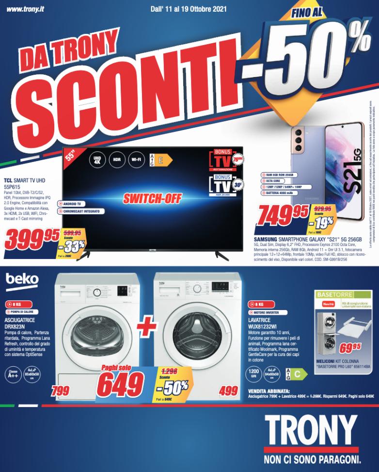 TRONY SCONTI FINO AL 50%